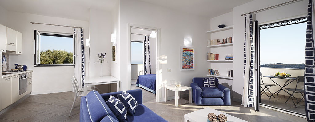 panoramic holiday apartment, with balconies, aida