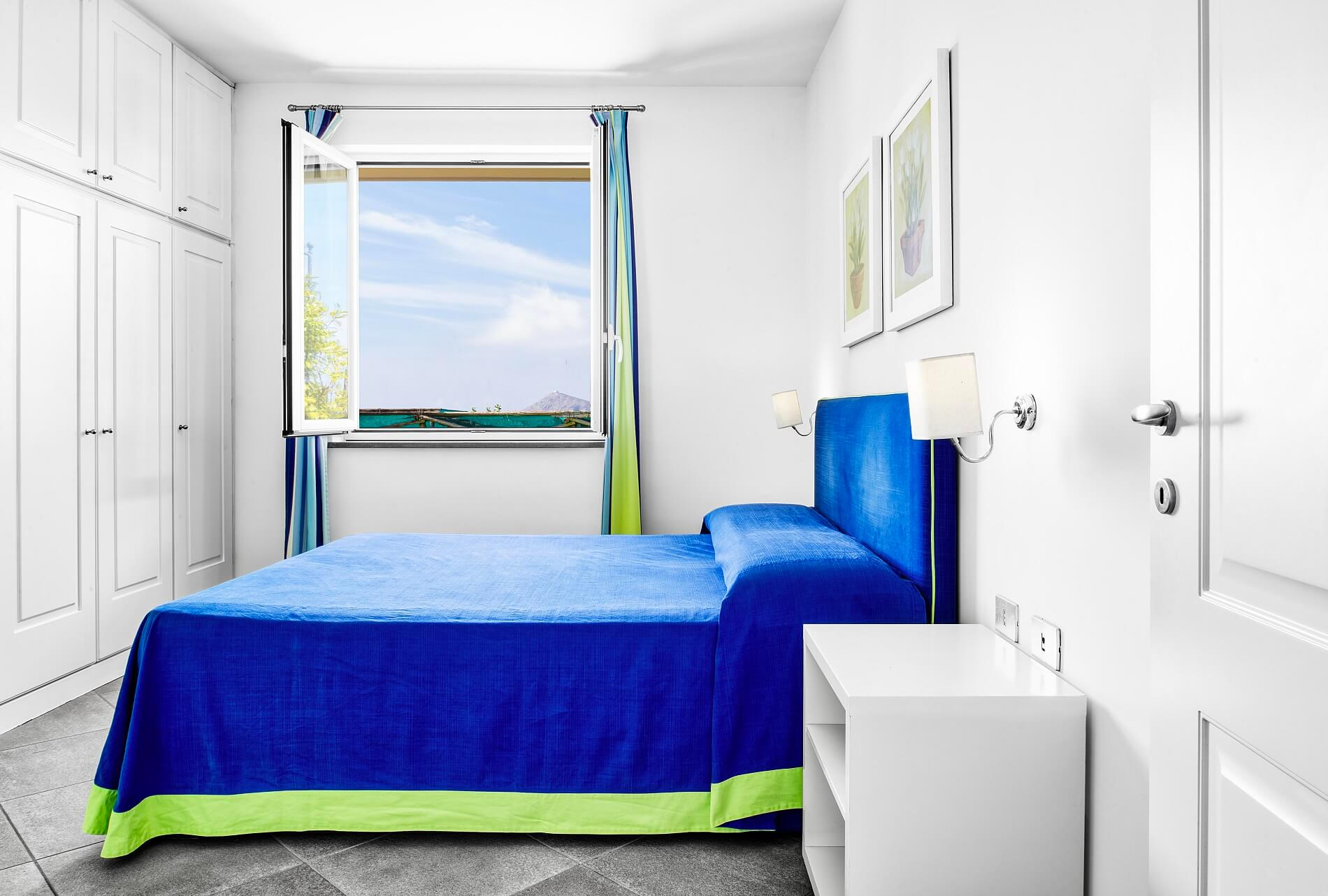 double bedroom, ground floor, holiday apartment tosca