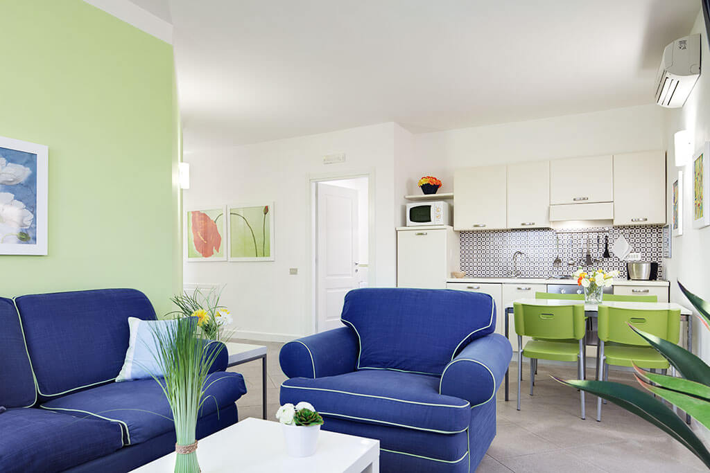 bright self catering apartment, holiday sorrento italy