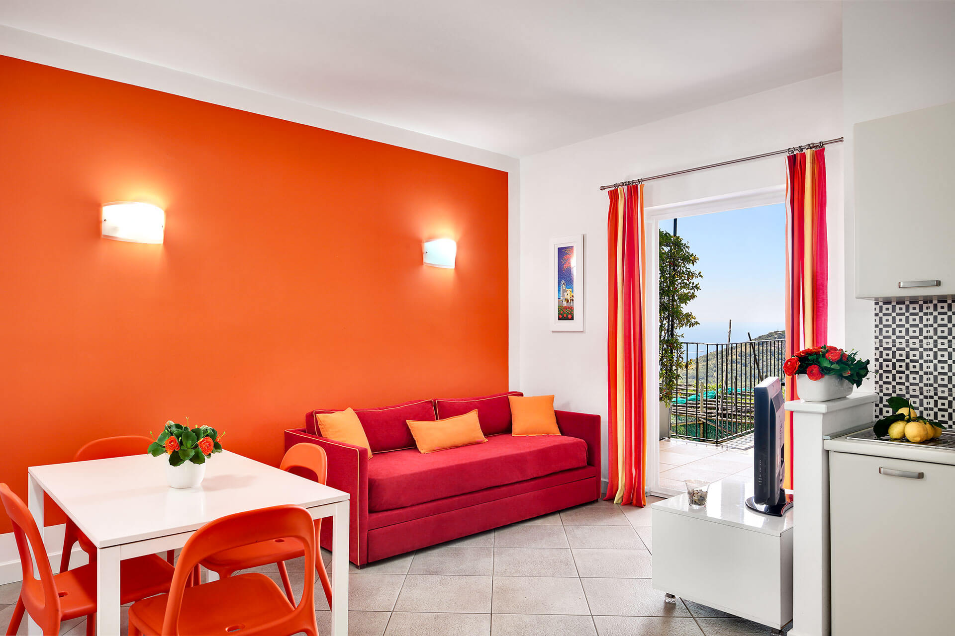 modern holiday apartment 6 people pool figaro